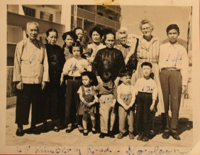 Grandmother and Family in Kowloon_1958