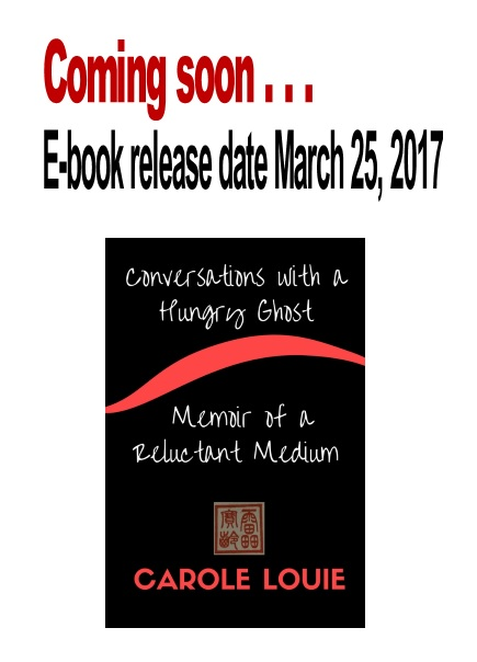 Release poster for ebook